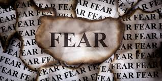 Fear can be a motivating factor or it can be debilitating and crippling – written by Carol Musser